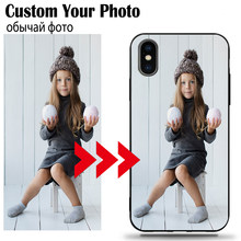 DIY Photo Custom Phone Case For Xiaomi Mi 5X 6X 9T 9SE 9 8 A1 A2 F1 Soft TPU Black Cover Name Logo Blessing Gift Souvenir(China)