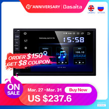 "Dasaita Android Universal Car 2 Din Radio 7 ""IPS Dello Schermo di Android 9.0 Stereo Multimediale di Navigazione per Nissan Built-in DSP(China)"
