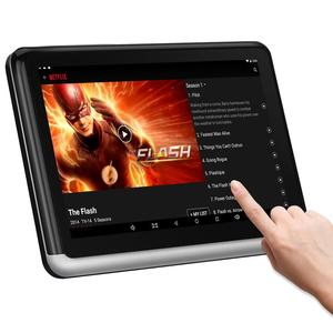 Android Headrest Tablet with WiFi 10.1 inch, Sync Screen IPS Touch Screen, YouTube Nexflix, Phone Mirror, Car Back Seat(China)
