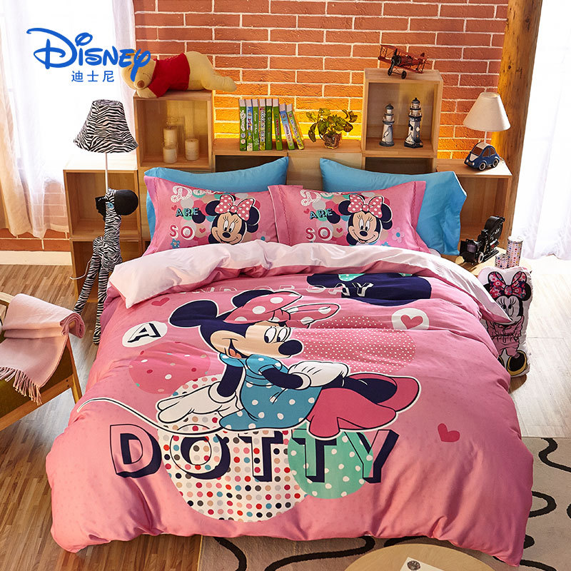 MICKEY MOUSE RACING BED SOFT COMFORTER SET DISNEY MOVIE CARTOONS COLLECTION