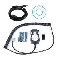 CNC Kit 5 Axis Breakout Board USB Interface MACH3 Engraving Machine Motion Controller Card + Electronic Lathe Handwheel