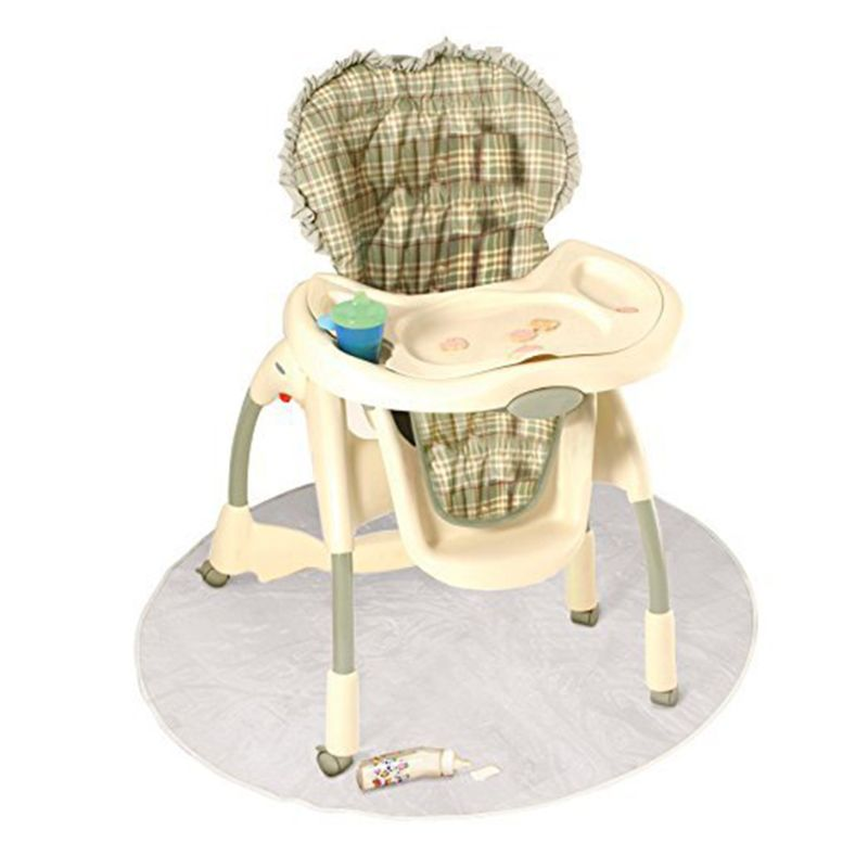 Children Dining Chair Pads Anti-dirty Floor Mats Transparent Outdoor Picnic Pad