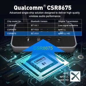 Image 4 - EKSA ET04 3 en 1 Bluetooth 5.0 récepteur émetteur Audio CSR8675 adaptateur Bluetooth optique/3.5mm AUX/SPDIF pour casque TV