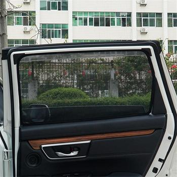 Front Rear 4PCS Magnetic Window Curtain Mesh Visor For Kia Sportage 2015 2016 2017 Side Window Sunshades For Sportage 2018 2019