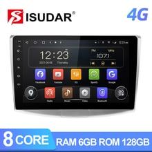 Isudar T72 4G z systemem Android Radio samochodowe do VW/Volkswagen/Passat B7 CC B6 samochodowe Multimedia GPS 8 rdzeń RAM 4GB ROM 64G kamera DVR bez 2Din