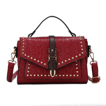 Bags for Women 2020 Vintage Handy Wild Studded Shoulder Bag Crossbody Bags for Women Luxury Handbags Bag Women Bag Handbag Louis studded transparent 2 pieces crossbody bag set