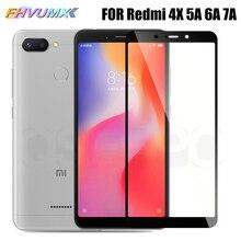 Xiaomi redmi 6a redmi 7a 용 3d 풀 커버 강화 유리 redmi 6 용 redmi 5a 4x 보호 유리 필름