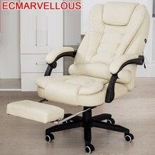 בוס Stoel עיסוי Taburete שרפרף גיימר Stoelen לשכת Meuble Sillon Lol עור מחשב Cadeira Poltrona סילה משחקי כיסא