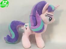Jednorożec Anime rysunek Starlight Glimmer pluszowa lalka PP bawełna wypchane zwierzęta koń dzieci zabawki 12