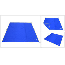 Пляжный коврик без песка водонепроницаемый открытый кемпинг для пикника Сумка коврик для палатки нижняя ткань Влагонепроницаемая