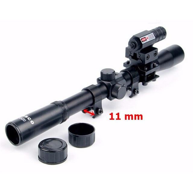 Rail Riflescope Optics Holographic Tactical Red Dot Laser Sight Reflex 4x20 Optics Scope Tactical Riflescope Red Dot Laser Sight 6