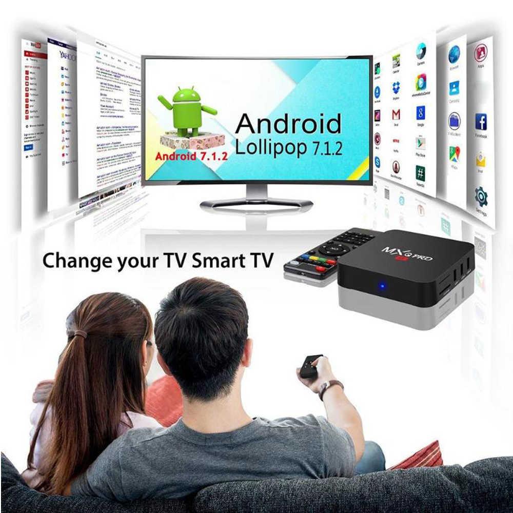 Mxq Pro RK3229 TV Box Android 7.1 2GB 16GB 4K 2.4G Hz Wi Fi Google Play Netflix YouTube media Player 1GB 8GB Smart Set Top Box