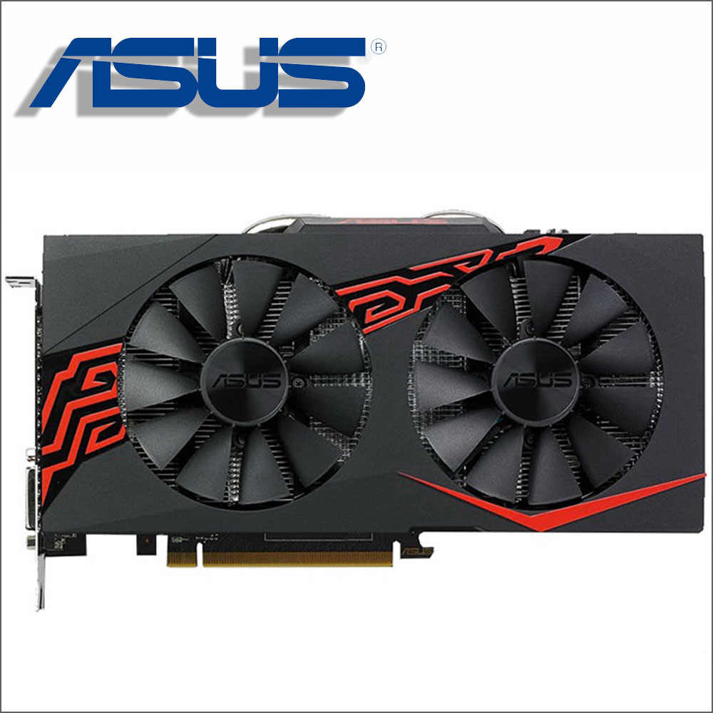 Tarjeta de vídeo ASUS RX 570 4GB 256Bit GDDR5 tarjetas gráficas para AMD RX 500 series VGA tarjetas RX570 RX580 580 8GB puerto de pantalla HDMI DVI
