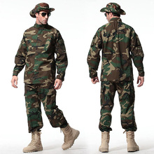 US Army Military Tactical Uniform Shirt + Pants Camo Camouflage Suit ACU Combat Uniform Men's Clothing Suit Airsoft Hunting недорого
