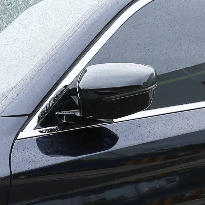 ABS Rearview Mirror Cap Cover Trim For BMW 5 7 Series G30 G11 G12 6 Series GT 2018 2019 3 Series G20 2020 Car Accessories|Chromium Styling| |  - title=