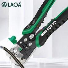 LAOA automatyczne ściąganie przewodów wielofunkcyjne profesjonalne elektryczne szczypce do zdejmowania izolacji ściąganie izolacji z kabla narzędzia