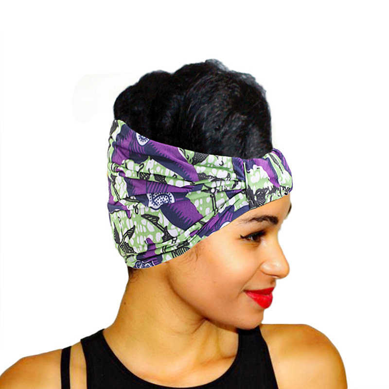 Fashion Adult Print Hairband Men/&Women Turban Bandana Hip Hop Scarf Headwrap New