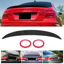 Spoiler Wing Trunk-Lid Performance-Style Coupe E92 2008 3-Series Rear Glossy Black Fit-For