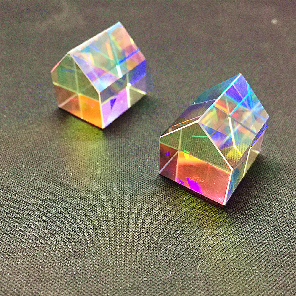 Color Prism Aurora Hut Light Cube Gifts About  Valentine's Day Creative  Optical Ornaments