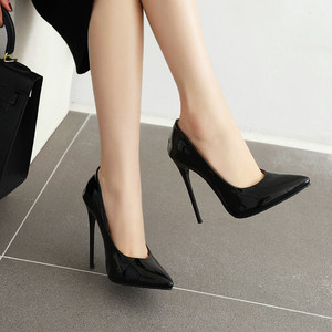 Image 5 - Zapatos de tacón alto para mujer, calzado de tacón fino, verde, rojo y amarillo, zapatos de fiesta, zapatos de oficina boda, talla grande 45, 2020