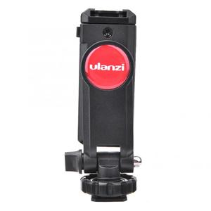 Image 5 - Ulanzi ST 06 حامل هاتف قابل للتعديل ترايبود جبل مع 1/4 برغي الحذاء الساخن الهاتف كليب اطلاق النار ل DSLR كاميرا فيديو Vlog