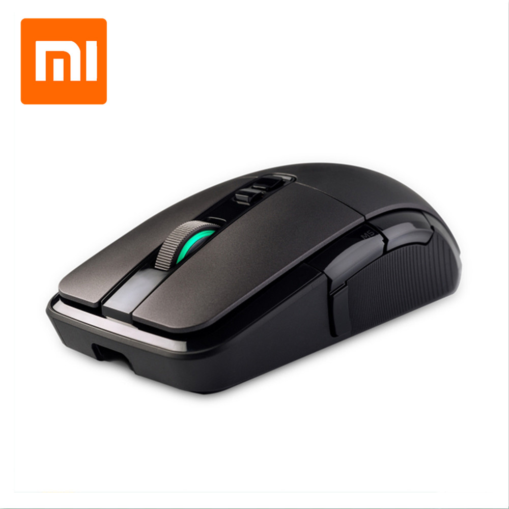 New Xiaomi Wireless Mouse Gaming <font><b>7200DPI</b></font> RGB Backlight Game Optical Rechargeable 32-bit ARM USB 2.4GHz Computer Mouse image