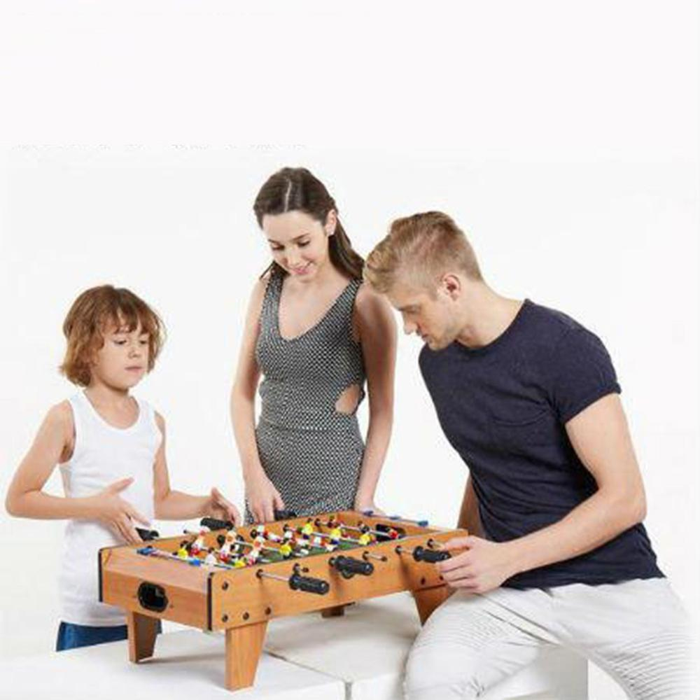 Mini Wooden Kids Children's Table Football Machine Foosball Table Soccer Toys Outdoor Camping Hiking Tools Entertainment Herbal Products