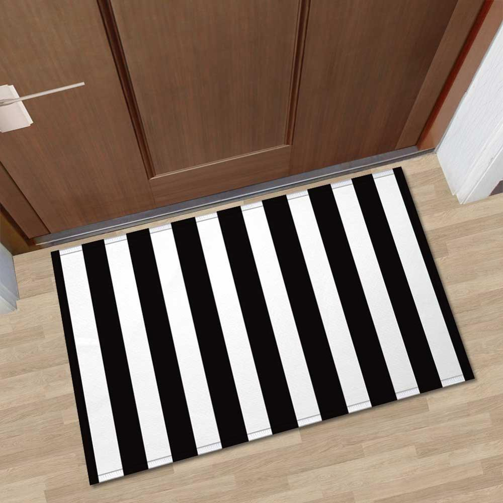 Nordic 3D Printed Animal Fur Floor Mat Entrance Doormat Anti slip Memory Foam Flannel Bath Room Kitchen Carpet for Home Decor in Mat from Home Garden