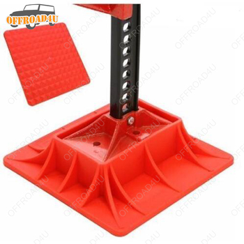 High Lift Jack Base Recovery Universal Farm Jack Stand Jack Base Plate For Hi Lift Jack Accessories 4×4 PICK UP Offroad