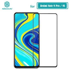 Image 1 - Redmi Note 9 Pro Max verre trempé Nillkin CP + PRO XD CP + MAX protecteur décran pour Xiaomi Redmi Note 9S verre
