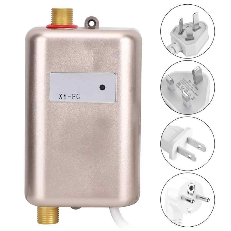 3800W מיידי חשמלי Tankless דוד מטבח אמבטיה מיידי חם קר מים דוד מערכת עם מחוון אור