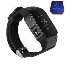 Reloj inteligente D99 para niños mayores, reloj inteligente SOS antipérdida Gps + Wifi, reloj de seguimiento para iphone, teléfonos Android, hombres y mujeres mayores