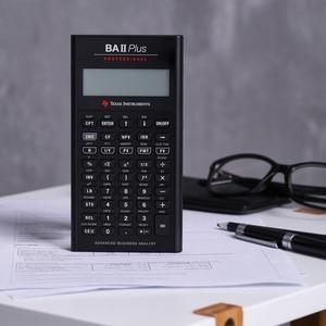 Image 4 - Ti BAII Plus Professional CFA 10หลักLedดาวน์โหลดCalculatrice Calculadoraการคำนวณทางการเงินนักเรียนเครื่องคิดเลขทางการเงิน