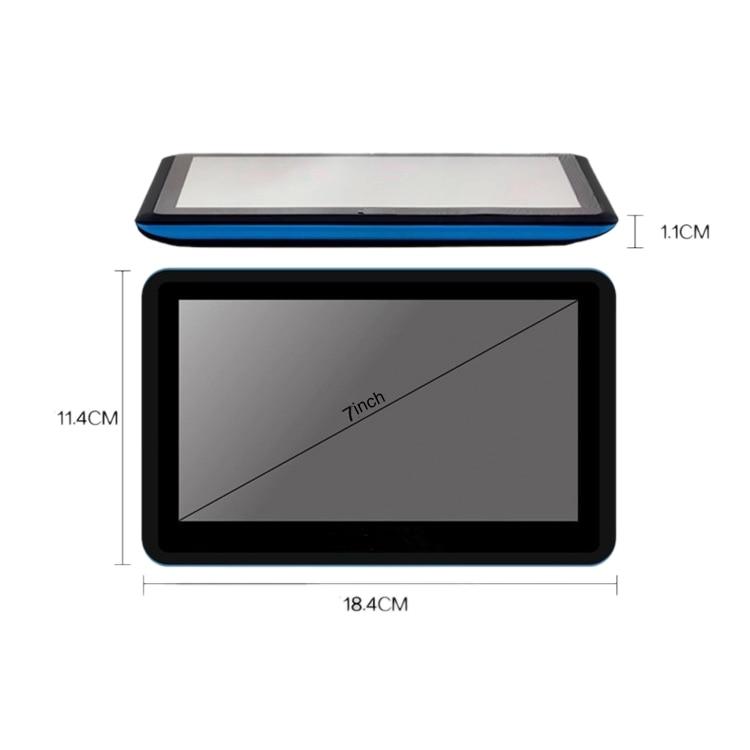 7-дюймовый автомобильный Gps навигатор емкостный Экран 8G 256Mb Mp3/Mp4 голос дальнего света навигации
