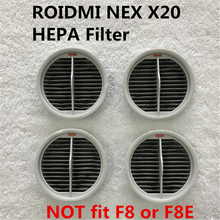 4PCS Hepa Filter For Xiaomi Roidmi NEX Handheld Cordless Vacuum Cleaner 2 in 1 Cleaning NEX X20 Hepa Filters Parts XCQLX02RM