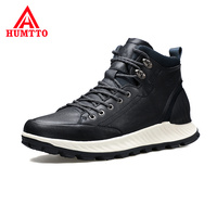 High Quality High top Hiking Boots Non slip Wear Resistant Outdoor Sport Waterproof Shoes Brand Genuine Leather Trekking Boots