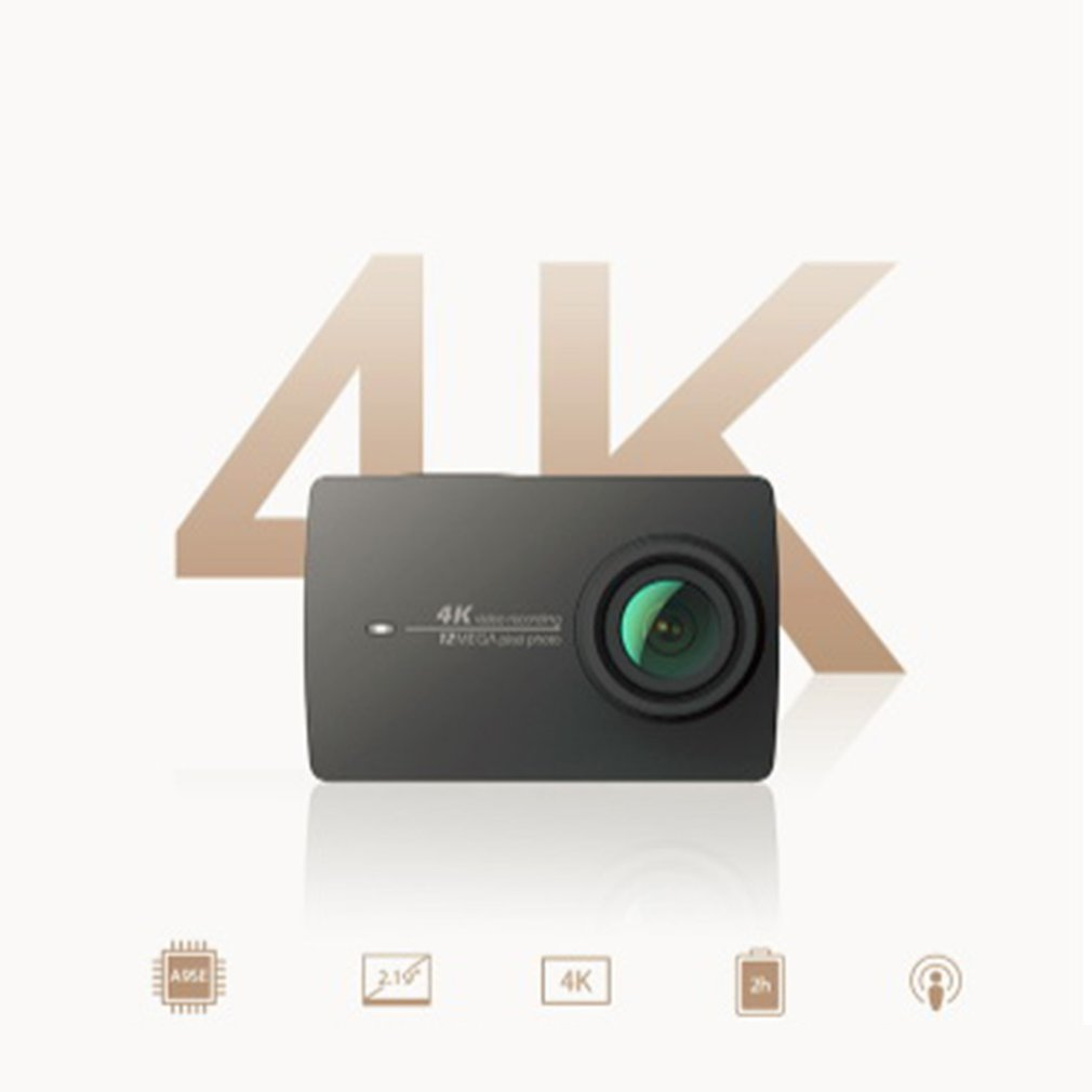 4K Action High Natural Light Camera High Transparent Material Can Keep A Good Photo Shooting 45m Waterproof Scuba Diving Surfing