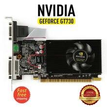 Видеокарта NVIDIA GeForce GT730 2GB DDR3 DVI VGA HDMI PCI-E низкопрофильная Видеокарта новая