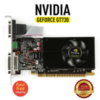 Video Card Original NVIDIA GeForce GT730 2GB DDR3 DVI VGA HDMI PCI E Low profile Graphics Card NEW