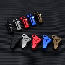 Glock acessórios peças de metal cnc si gatilho para airsoft gbb gel blaster kublai p1 g17 g19 g26 g34 gen 1 2 3 4