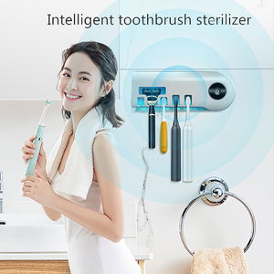 2020 новейший умный УФ-светильник 2 в 1, держатель для зубных щеток, стерилизатор, коробка для чистки зубных щеток, бритва, розетка для ухода за ...