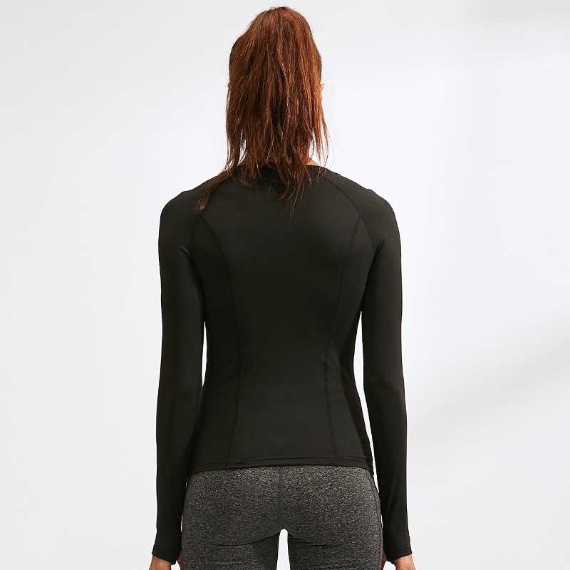 HOLAZING Herfst Winter vrouwen Fitness Top Running Jogging Warm Dragen Meisjes Sport GYM Yoga Shirt Lange Mouwen T-Shirt WT5021