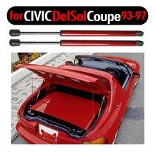 2pcs Auto Porta Tronco Boot Gas Carica Struts Molla di Sollevamento Supporto Per Honda Civic del Sol Coupe 1993-1995 1996 1997 14.76 pollici