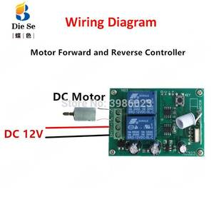 Image 4 - 433MHz Universal Wireless Remote Control DC 12V 2CH Relay Receiver Module RF Switch 4 Button Remote Control Gate Garage opener