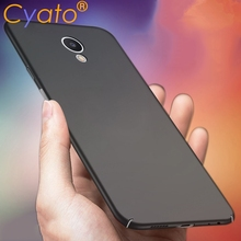 Cyato for Meizu M6s Case 360 Protection Slim Matte PC Hard Back Cover Mblu S6 Phone Cases Housing