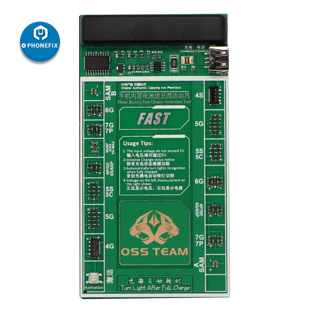 PHONEFIX Mobile Phone Battery Fast Charging Activation Board for iPhone X XS MAX 8 8P X 7 7P 6S 6SP 6 6P SE 5 5S 4 4S|board board|board repair|board battery - title=