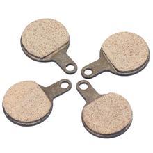 2 pares de pastillas de freno de disco de resina MTB para Tektro Lyra Novela yox freno de disco de bicicleta