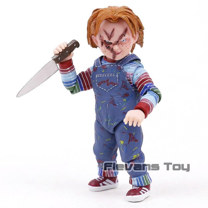 NECA Good Guys Чаки ребенка играть страшно Невеста Чаки ПВХ, движущаяся фигурка, Коллекционная модель, игрушка кукла из фильма ужасов