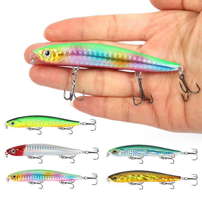 2020 yeni 9cm 8G Jerkbait Wobblers balıkçılık Wobbler mücadele balıkçılık Crankbait kalem Pike balıkçılık Wobblers Leurre Souple Leurre dur