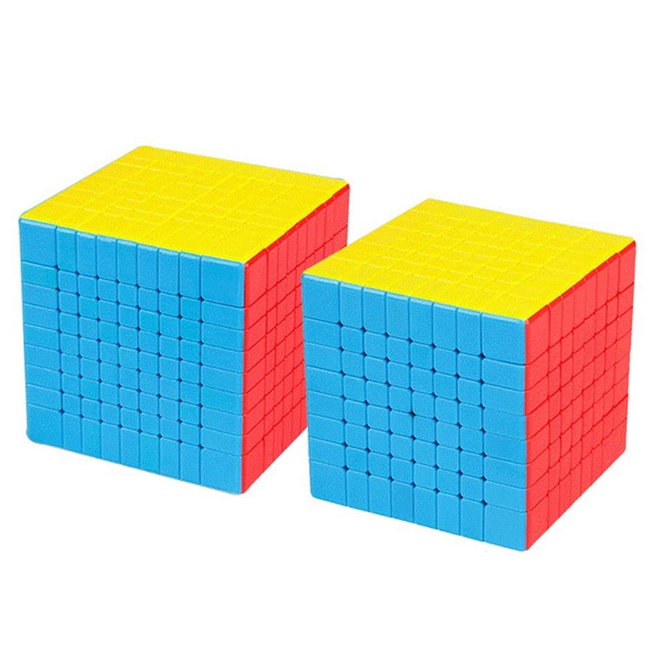 MOYU Meilong Magic Cube Без Наклейки 4x4 5x5 6x6 7x7 8x8 Кубик Рубика Скорость Головоломки Кубики Игрушки Подарок